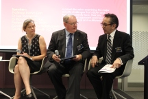 Security Panel (2) - Dr Sue Thompson, Australian National University, Mr Ric Smith, Aus-CSCAP, Dr Marty Natalegawa, Former Indonesian Foreign Minister