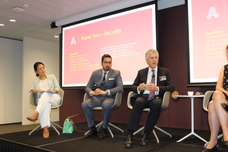 Security Panel (1) - Prof Evelyn Goh, Australian National University, Mr Richard Heydarian, De La Salle University, Prof Stephen Smith, Perth USAsia Centre