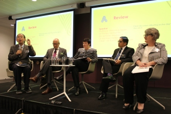Review Panel - Dr Kavi Chongkittavorn, Chulalongkorn University, Mr Michael Vatikiotis, Centre for Humanitarian Dialogue, Ms Jennifer Westacott, Executive, Australian Business Council, Dr Phillips Vermonte, Centre for Strategic and International Studies, Indonesia, Prof Veronica Taylor, Australian National University